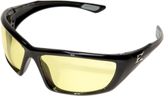 Edge Robson Safety Glasses with Black Frame and Yellow Lens