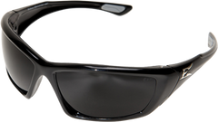 Edge Robson Safety Glasses with Black Frame and Smoke Vapor Shield Lens