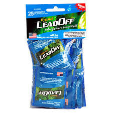 Hygenall LeadOff - Range Series - 25 Pack of Single Wipes