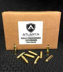 .223/5.56 FULLY PROCESSED BRASS - 1000 PIECES