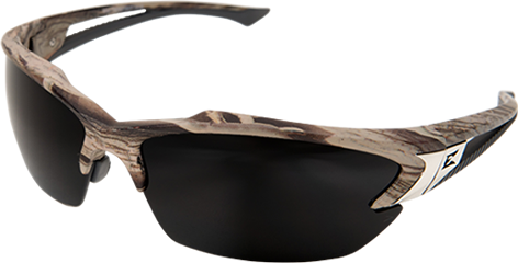 Edge Khor Safety Glasses Kit w/ Camo Frame, 3 Pairs of Lenses