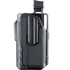 BLACKHAWK - Omnivore Multi fit Holster for Most Handguns with Surefire X-300 Light Grey/Black