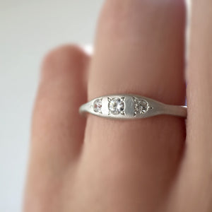 moissanite rings