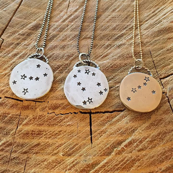 Custom Constellation Necklace in Sterling Silver