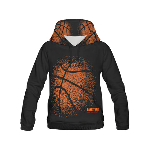 basketball All Over Print Hoodie for Men (USA Size) (Model H13)