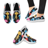 Slip-on Women's Canvas Sneakers (Model 042)