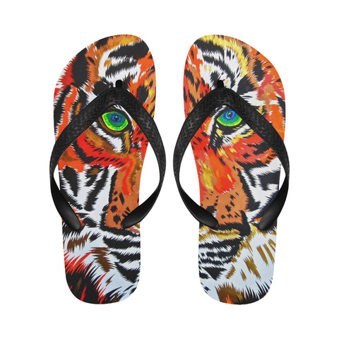 Tiger Flip Flops for Men/Women (Model 040)