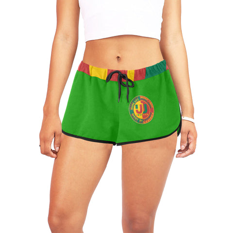 Women's  Relaxed Shorts Green