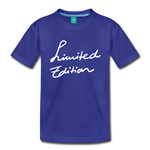 Limited Edition - royal blue