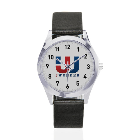 JW Unisex  Leather Watch