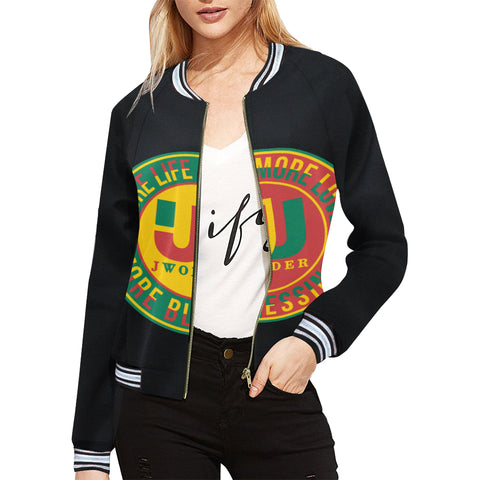More Blessings Bomber Jacket for Women