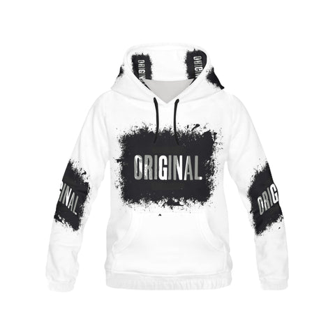 original slogan All Over Print Hoodie for Men (USA Size) (Model H13)