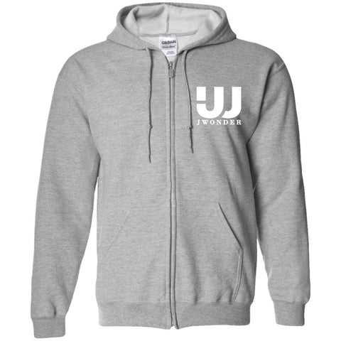 JW Zip Up Hooded Sweatshirt