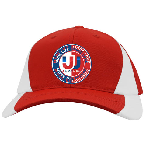 Youth Mid-Profile Color-block Cap