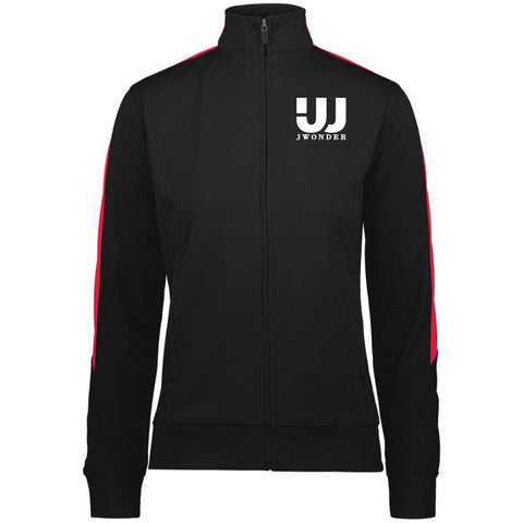 JW Ladies' Performance Colorblock Full Zip