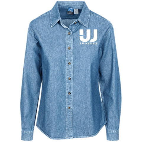 JW Women's LS Denim Shirt