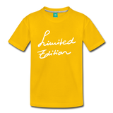 Limited Edition - sun yellow