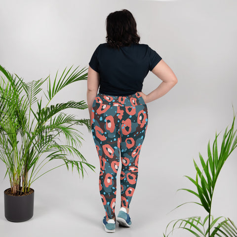 Lips Plus Size Leggings