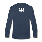Men's Long Sleeve T-Shirt - navy