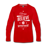 Men's Long Sleeve T-Shirt - red