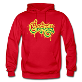 Heavy Blend Adult Hoodie - red