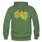 Heavy Blend Adult Hoodie - military green