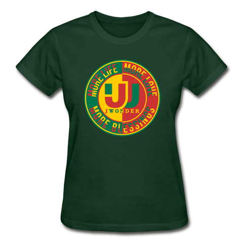 MB Ultra Cotton Ladies T-Shirt - forest green