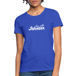 JW Women's T-Shirt - royal blue