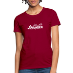 JW Women's T-Shirt - dark red