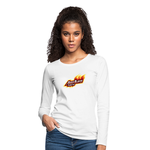 Aiden Blayze Women's  Long Sleeve T-Shirt - white