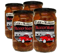 Bloody Mary Pickles