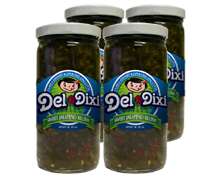 Sweet Jal. Relish 8 oz Del-Dixi