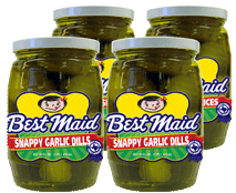 Snappy Garlic Dills 16 oz