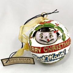 Best Maid Christmas Ornament - Ball