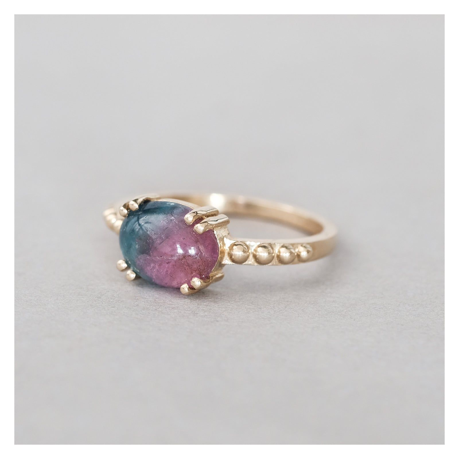 dale watermelon tourmaline ring #2