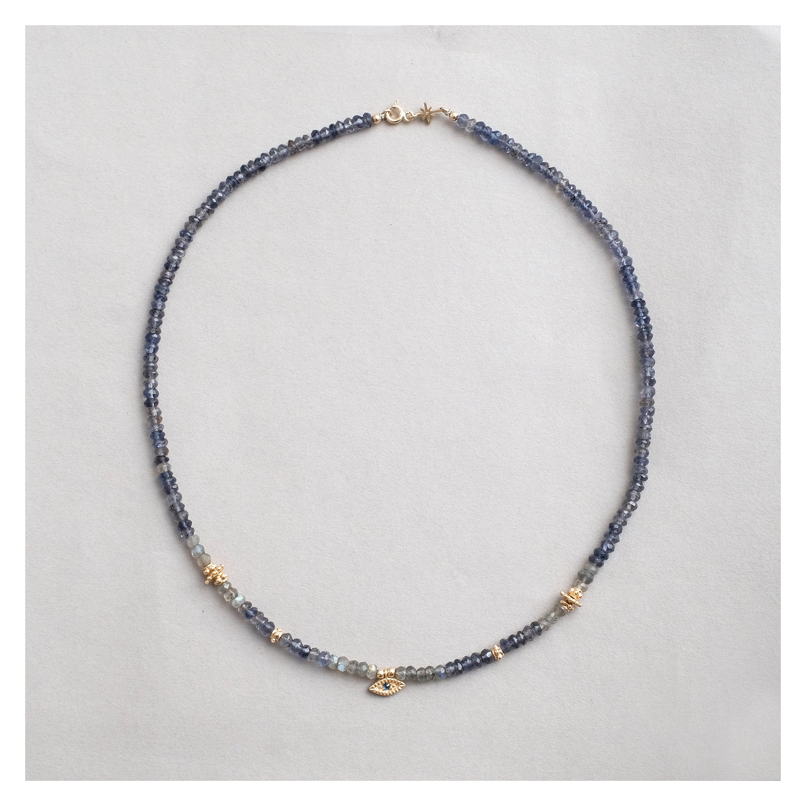 galle bead necklace #1