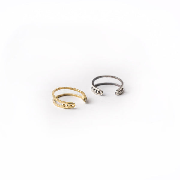 luna fingertip ring