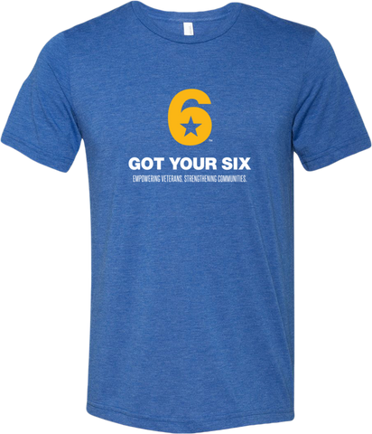 Got Your 6 Men's Triblend T-Shirt