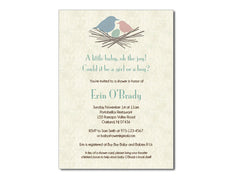 Baby Nest Invitations