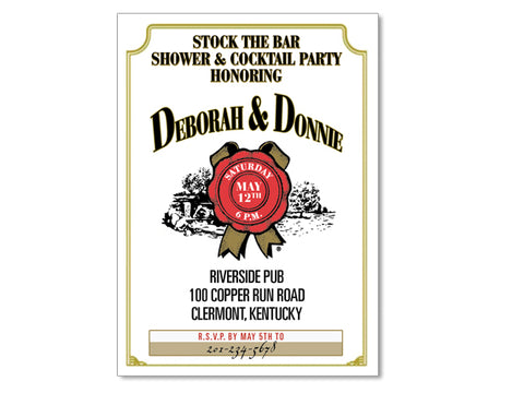Stock the Bar Invitations