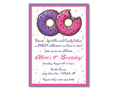 Donut and Sprinkle Birthday Party