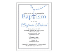 Baptism / Communion Cross Invitations