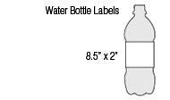 Water Bottle Labels