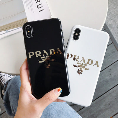 f083f0f1 Prada case For iphone 6/7/8 plus xs max/XR Cell phone cover– Fogo ...