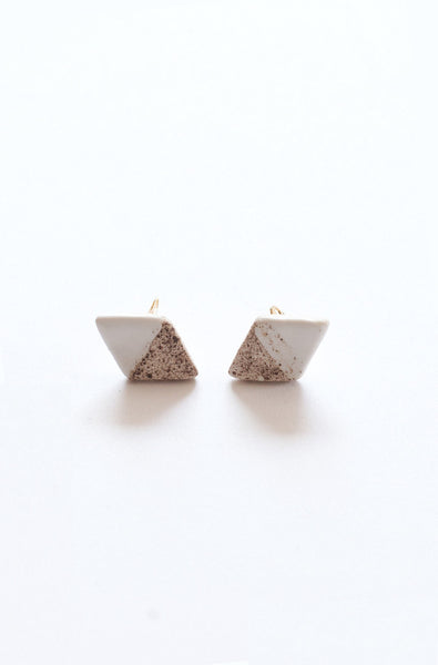 Double Point Earrings