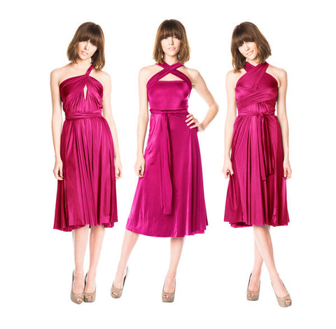 The Infinite Skirt Dress in Orchid