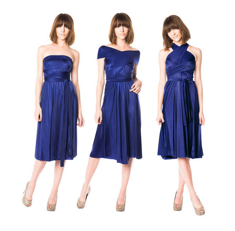 The Infinite Skirt Dress in Royal