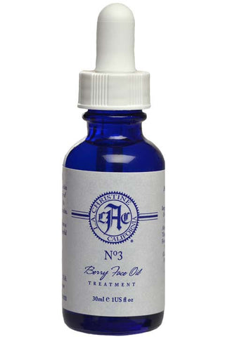 No.No 3 Berry Face Oil Treatment by L.A. Christine, Finland beauty secret, all natural - best skincare with unique Nordic Lingonberry