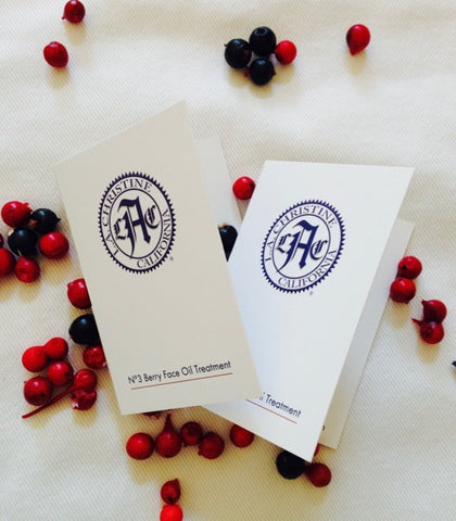 FREE SAMPLE - No. 3 Berry Face Oil Treatment