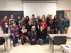 UWRF Crops and Soils Club group picture